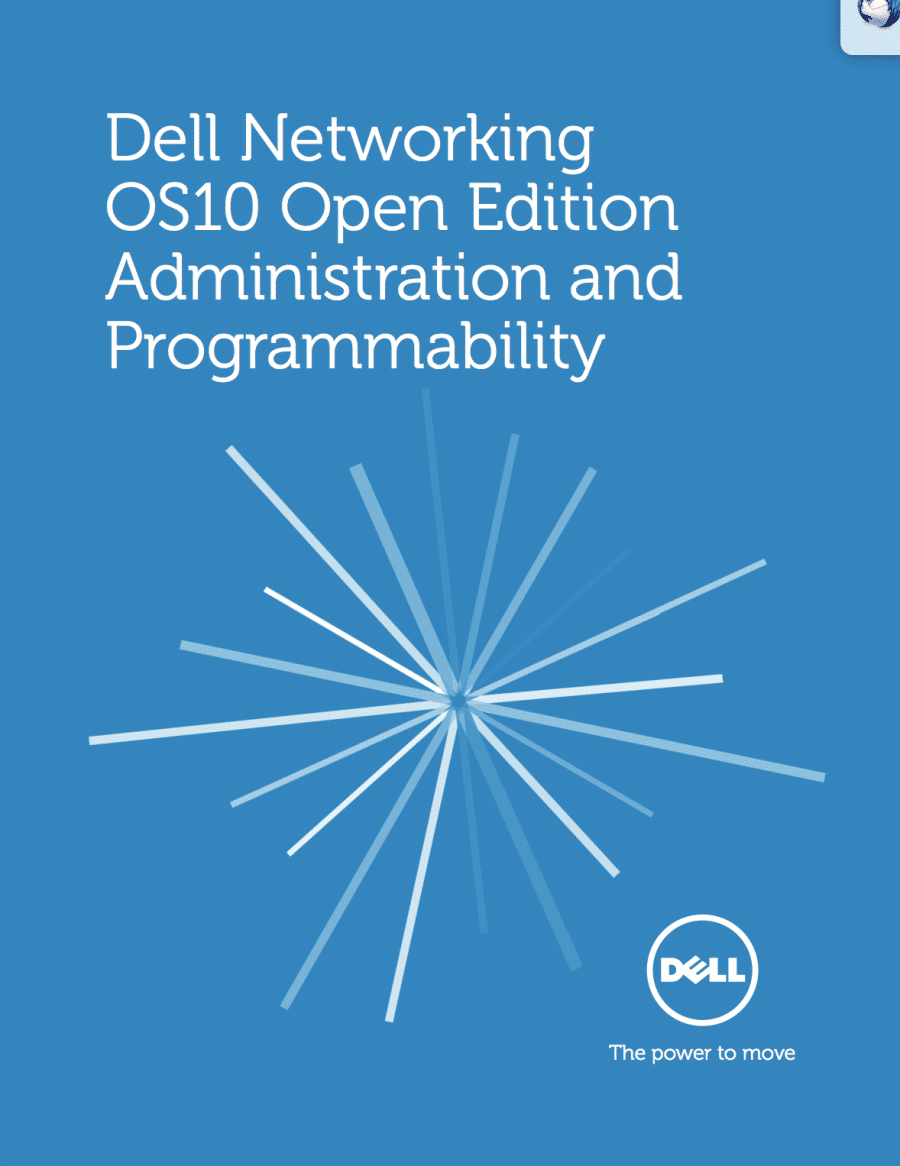 Dell Networking OS10 Open Edition - Cover
