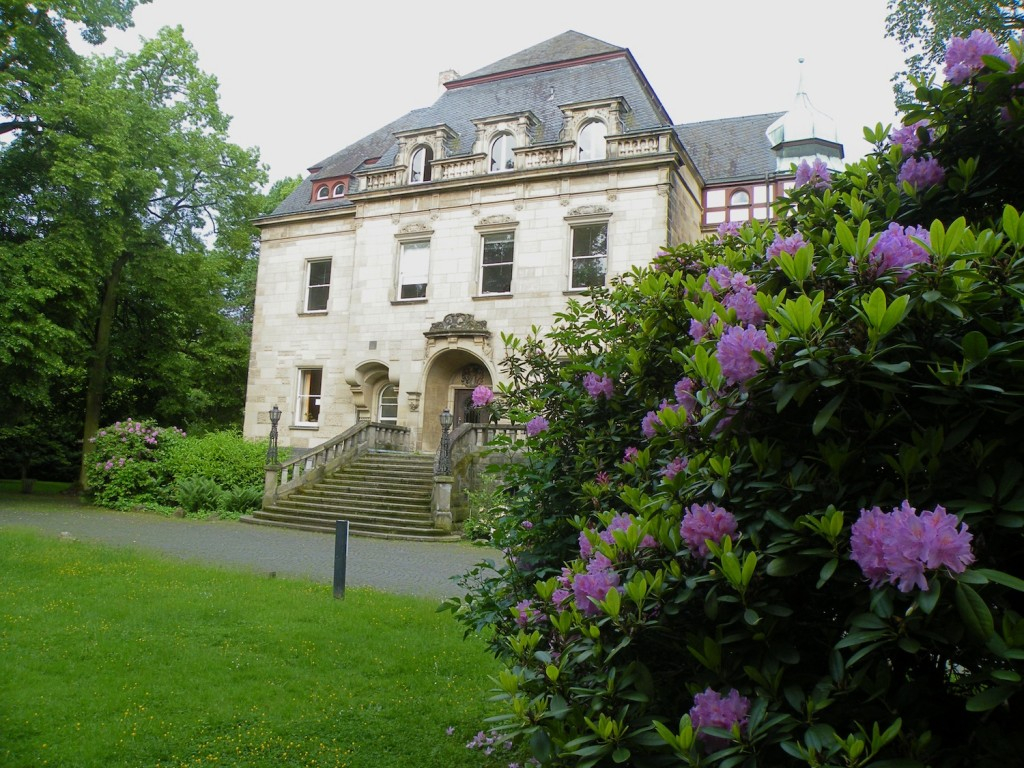 GIZ Akademie in Bad Honnef in the springtime