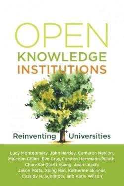 Open knowledge Institutions MIT press