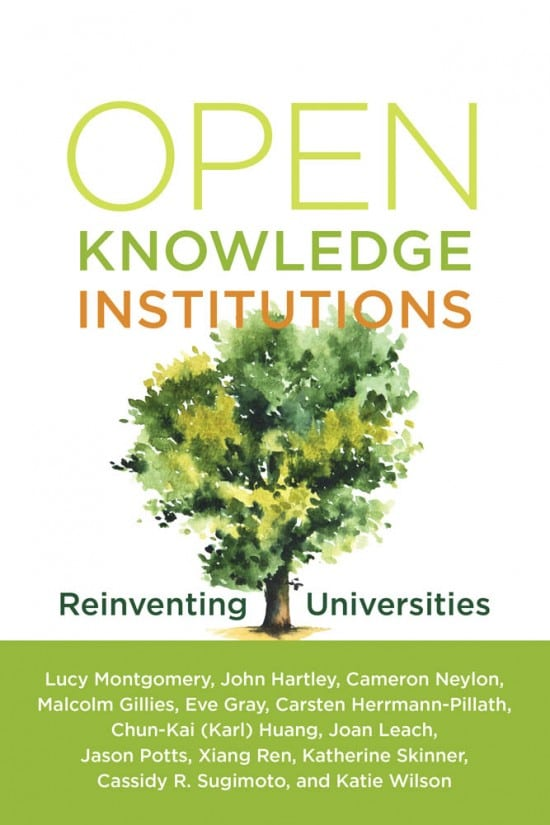Open knowledge Institutions MIT press