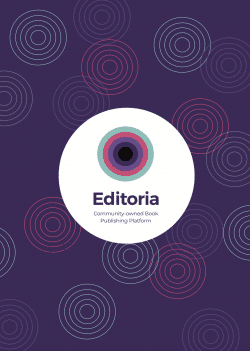 The cover of the book on Editoria