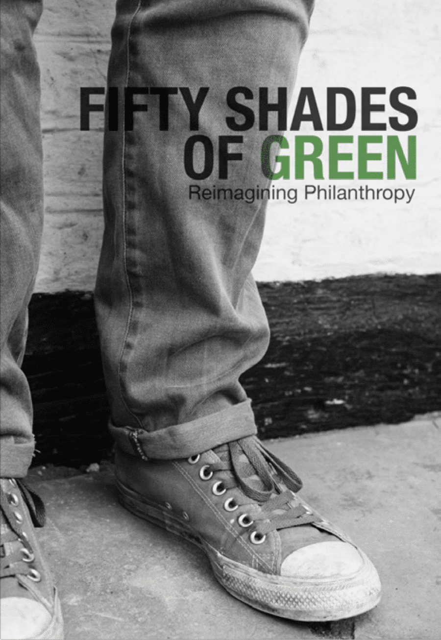 A black and white book cover showing two feet in Converse shoes