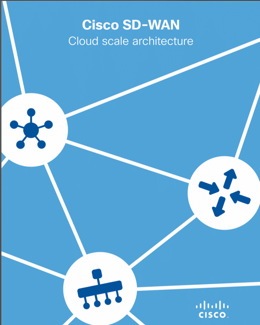 Cisco SD-WAN Cloud scale architecture