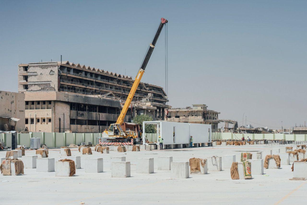 hospital reconstruction in Mosul Iraq